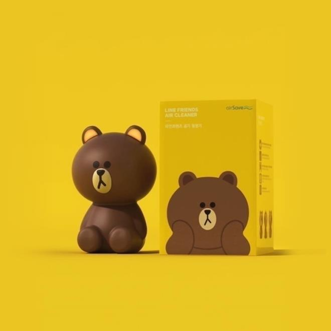 LINE FRIENDS_Line Brown Air Cleaner