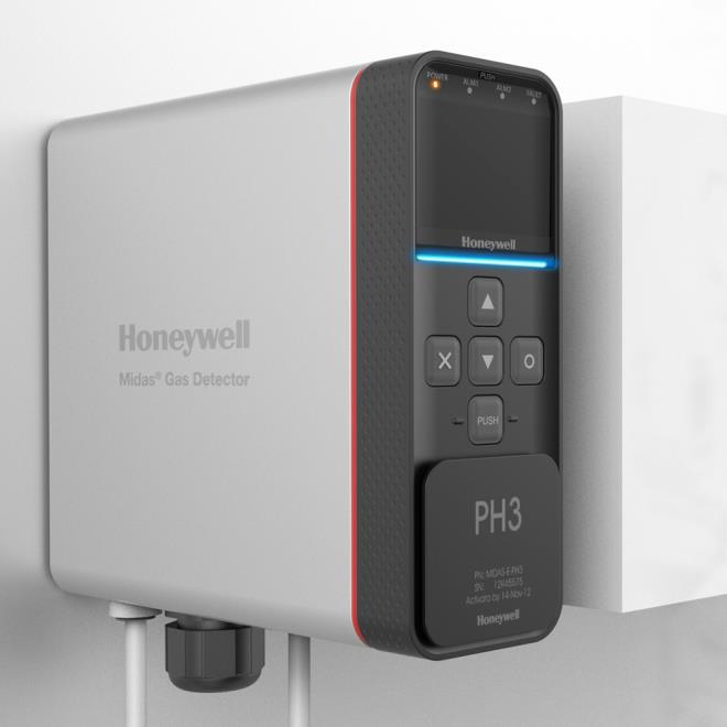 Honeywell_gas detector
